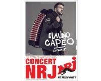 NRJ: 2 places pour le concert de Claudio Capéo à la Cigale le 06/12 à gagner
