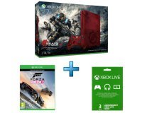 TopAchat: Le pack Xbox One S 2To Gears Of War 4 + Forza Horizon 3 + Live Gold 3 mois