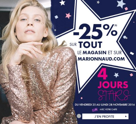 PROMOTION MARIONNAUD EN MAGASIN