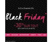 DIM: Black Friday : -30% sur tout dès 2 articles achetés