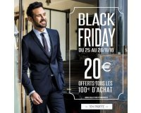 Father & Sons: Black Friday : 20€ offerts tous les 100€ d'achat