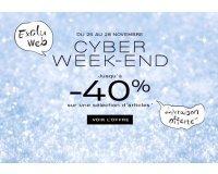 Galeries Lafayette: Cyber Week-End : jusqu'à -40% sur une sélection d'articles