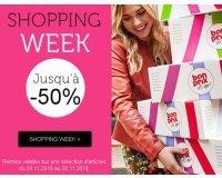 Bonprix: Shopping Week : jusqu'à -50% sur une sélection d'articles