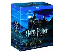 Amazon: Harry Potter - L'intégrale des 8 films en Blu-ray à 19,86€