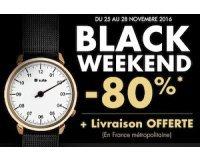 Timefy: Black Weekend : -80% sur une sélection de produits + livraison offerte