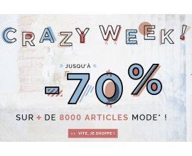 Uncle Jeans: Crazy Week : jusqu'à 70% de réduction + -15% supplémentaires