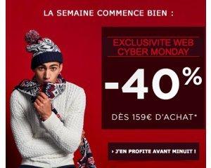 Jules: 30% de réduction dès 49€ d'achat ou - 40% dès 159€