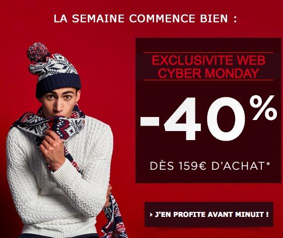 Code promo Jules : 30% de réduction dès 49€ d'achat ou - 40% dès 159€