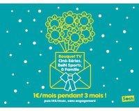 Sosh: Les bouquets TV BeIN Sports, Ciné Séries ou Famille à 1€ / mois pendant 3 mois