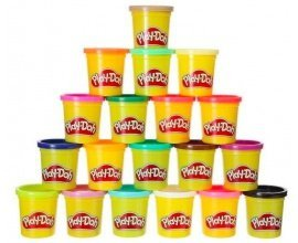 Amazon: 20 pots de pâte à modeler Play-Doh à 8,99€