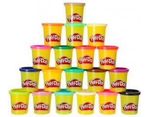Amazon: 20 pots de pâte à modeler Play-Doh à 8,99€