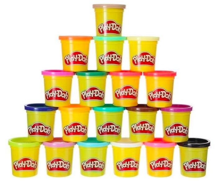 Code promo Amazon : 20 pots de pâte à modeler Play-Doh à 8,99€