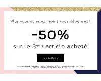 Envie de Fraise: 2 articles achetés = le 3ème le moins cher à 50% de réduction