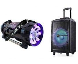 NRJ: 1 Ghetto Blaster Hurricane Light et 1 Sono Bluetooth Street Light à gagner
