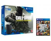 Micromania: PS4 Slim 1To + Call of Duty : Infinite Warfare + 2e manette + GTA V à 349,99€