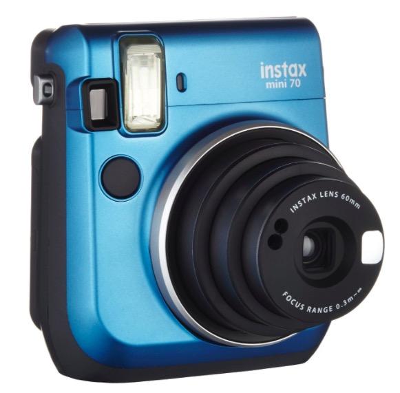 Code promo Amazon : Appareil photo instantané Fujifilm Instax Mini 70 (coloris au choix) à 99€