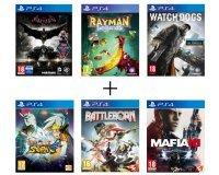 Cdiscount: Plusieurs packs de jeux PS4 en promo à partir de 89,99€ les 6 jeux