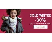 Kidiliz: -30% sur les vestes et manteaux