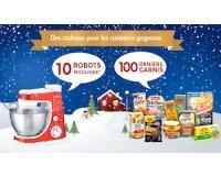 Nestlé: 10 robots Moulinex, 100 paniers gourmands à gagner
