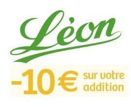 Léon de Bruxelles: 10€ de réduction sur votre addition en rejoignant le Club Leon