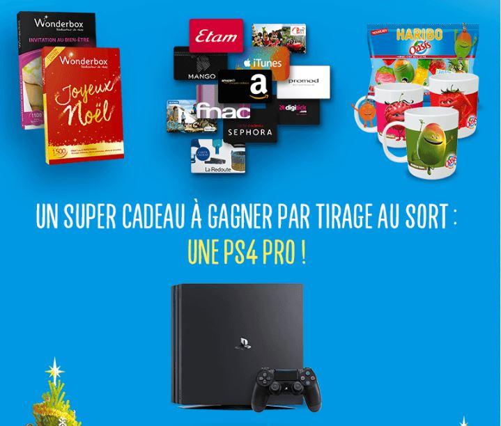 Code promo Flunch : Calendrier de l'avent : 1 PS4, 11 Wonderbox, des cartes cadeaux à gagner