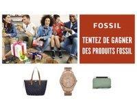 Minute Facile: Une montre Fossil femme , un sac cabas ou une petite maroquinerie à gagner