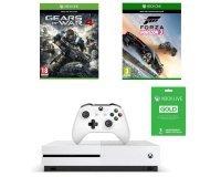 Cdiscount: La Xbox One S 500Go + Forza Horizon 3 + GoW 4 + 3 mois de Live gold à 274€