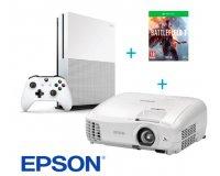 Rue du Commerce: Videoprojecteur Epson EH-TW5210 + Pack XBOX One S 500Go + Battlefield 1 à 699€