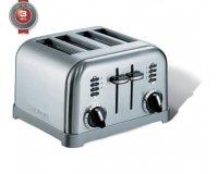 Westwing: Le grille-pain mécanique argenté Cuisinart pour 4 tranche à 69€ au lieu de 100€