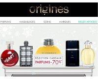 Origines Parfums: Jusqu'à -70% sur une sélection de parfums