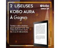 IDBOOX: 2 liseuses Kobo Aura 2ème édition à gagner