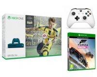 Micromania: Console Xbox One S 500 Go + FIFA17 + Forza Horizon 3 + 2e manette à 299,99€