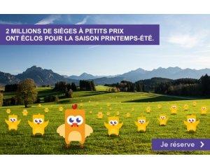 Voyages SNCF: Ouverture ventes printemps - été : Votre billet de train IDTGV dès 19€ l'aller