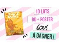 """Rose Carpet: 10 lots BD + poster """"Lou !"""" à gagner"""