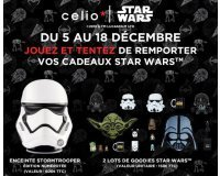 Celio*: 1 enceinte Stormtrooper & 2 lots de goodies Star Wars à gagner