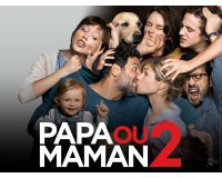 """NRJ: 20 lots de 2 places de cinéma pour le film """"Papa ou Maman 2"""" à gagner"""