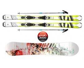 Sport2000: Jusqu'à 50% d'économie sur vos locations de matériel de ski