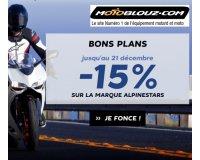Motoblouz: 15% de réduction sur toute la marque italienne Alpinestars