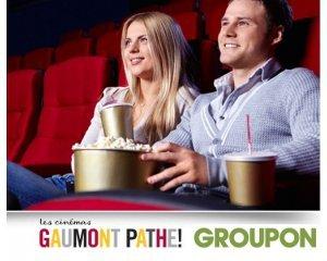 Groupon: 1 place de cinéma Gaumont et Pathé du 3 au 31 janvier 2017 à 5,90€