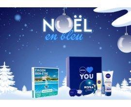 NIVEA: 3 coffrets cadeaux smartbox évasion bien-être ou 50 coffrets noël NIVEA à gagner