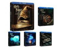 Amazon: Intégrale des 8 films Harry Potter en Steelbook à 99,99€