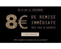 Promod: 8€ de remise immédiate des 45€ d'achat