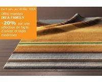IKEA: - 20% sur une sélection de tapis d'orient et tapis modernes