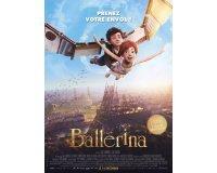 Cultura: 25 places de cinéma pour le dessin animé « Ballerina », 10 livres et 15 affiches