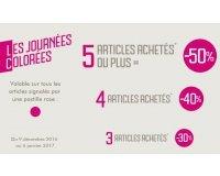 GÉMO: -30% dès 3 articles achetés, -40% dès 4 articles, -50% dès 5 articles