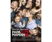"""Rire et chansons: 50 places de cinéma pour le film """"Papa ou Maman 2"""" à gagner"""