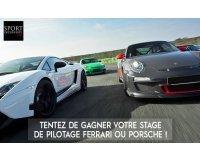 Turbo.fr: 3 stages de pilotage sur Ferrari, Porsche et Monoplace à gagner
