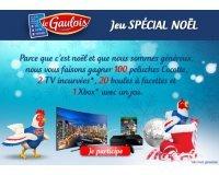 Le Gaulois: 2 TV incurvées, 1 Xbox, 20 boules à facettes & 100 peluches à gagner