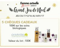 Beauté Addict: 5 chèques cadeaux de 100€ sur les soins biologiques à gagner