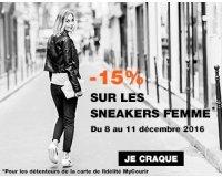 Courir: [Adhérents My Courir] 15% de réduction sur les Sneakers Femme